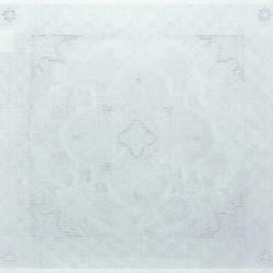 Serviettes de table Azulejos Blanc
