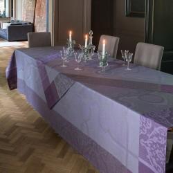 Nappe de table Villa Médicis Prune Le Jacquard Français