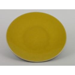 Assiette plate Tourron citron, Jars Céramistes