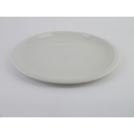 Assiette plate Cantine Craie, Jars Céramistes