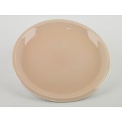 Assiette plate Cantine Rose buvard, Jars Céramistes