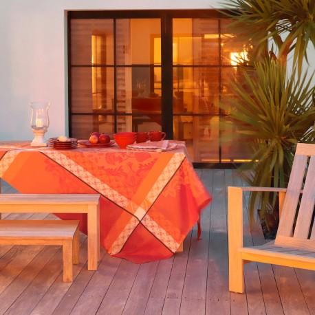 nappe de table provencale rouge haut de gamme. Black Bedroom Furniture Sets. Home Design Ideas