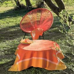 Nappe Sunshine Orange Garnier-Thiébaut