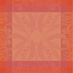 Serviettes de table Songe d'été Paprika Garnier-Thiébaut
