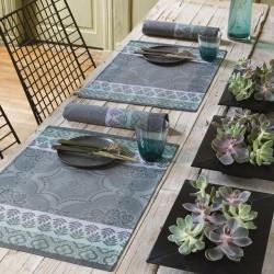 Set de table design enduit Bastide Poivre Le Jacquard Français