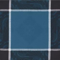 Serviettes de table Palace Bleu paon Le Jacquard Français