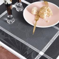 Sets de table Palace Caviar Le Jacquard Français