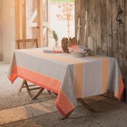 Nappe coton enduit Mille Geometry Mango Garnier-Thiébaut
