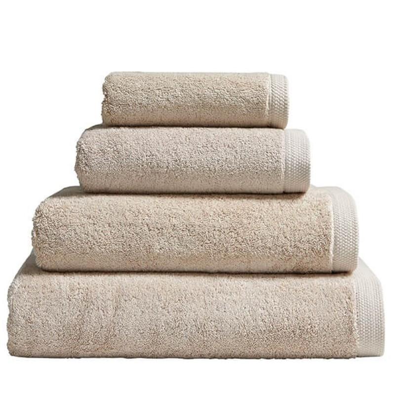 Serviette de bain linge ponge bio luxe linge de bain for Linge de bain haut de gamme
