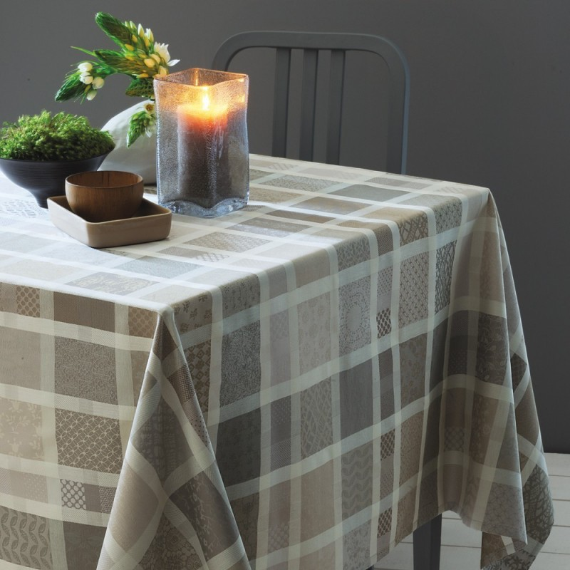 nappe sur mesure de table campagne champetre jardin. Black Bedroom Furniture Sets. Home Design Ideas