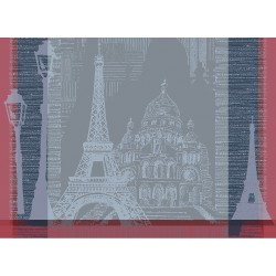 Sets de table anti tache Parisienne Ardoise
