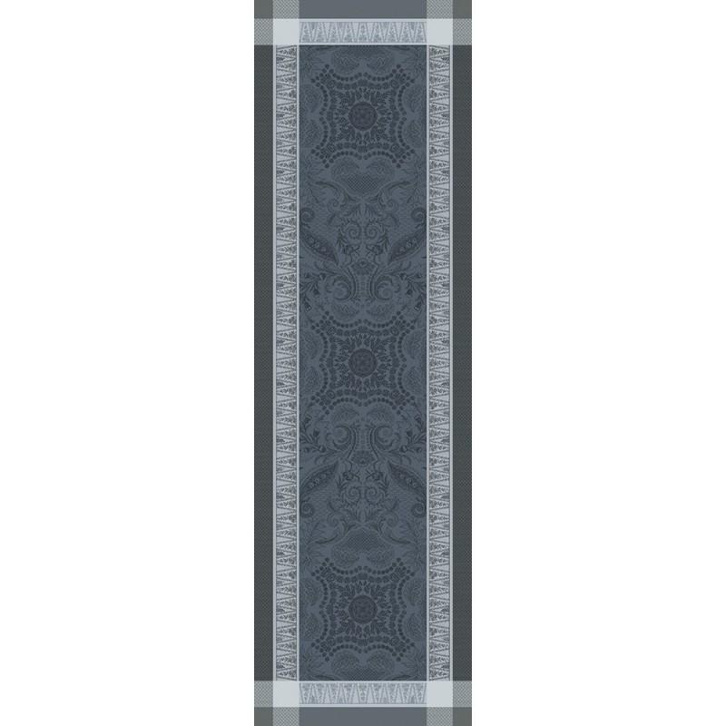 chemin de table anti tache persina noir garnier thibaut loading zoom