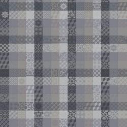 Tissu sur mesure Mille Tiles Anthracite