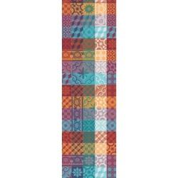 Chemin de table Mille Tiles multicolore, Garnier-Thiébaut