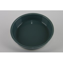 Assiette creuse Cantine vert de chaux, Jars Céramistes