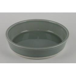 Assiette creuse Cantine Gris oxyde, Jars Céramistes