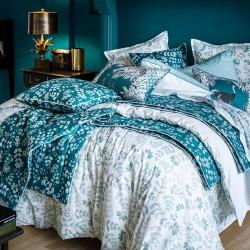 Parure de lit percale de coton Gri-gri, Alexandre Turpault
