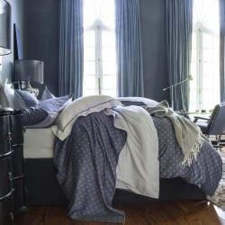 Nocturne, parure de lit satin de coton Alexandre Turpault