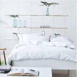Astor Graphite parure de lit percale de coton, Designers Guild