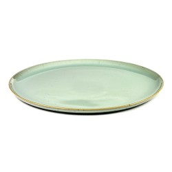 Assiette plate 26 cm Terres de rêves Light blue, Anita Le Grelle