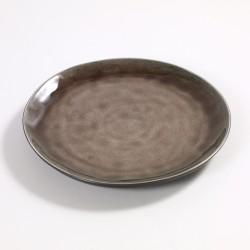 Assiette dessert céramique Pure Brun, Serax par Pascale Naessens
