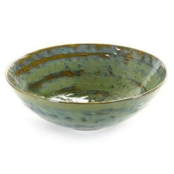 Saladier 32cm céramique Pure new Vert de mer, Serax par Pascale Naessens