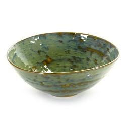Saladier 28.5cm céramique Pure new Vert de mer, Serax par Pascale Naessens