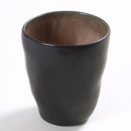 Gobelet céramique Pure Brun, Serax par Pascale Naessens