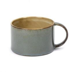 Mug 19cl Misty grey/Smokey blue Serax Terres de Rêves par Anita Le Grelle