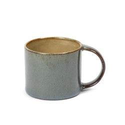 Mug espresso 8.5cl Misty grey/Smokey blue Serax Terres de Rêves par Anita Le Grelle