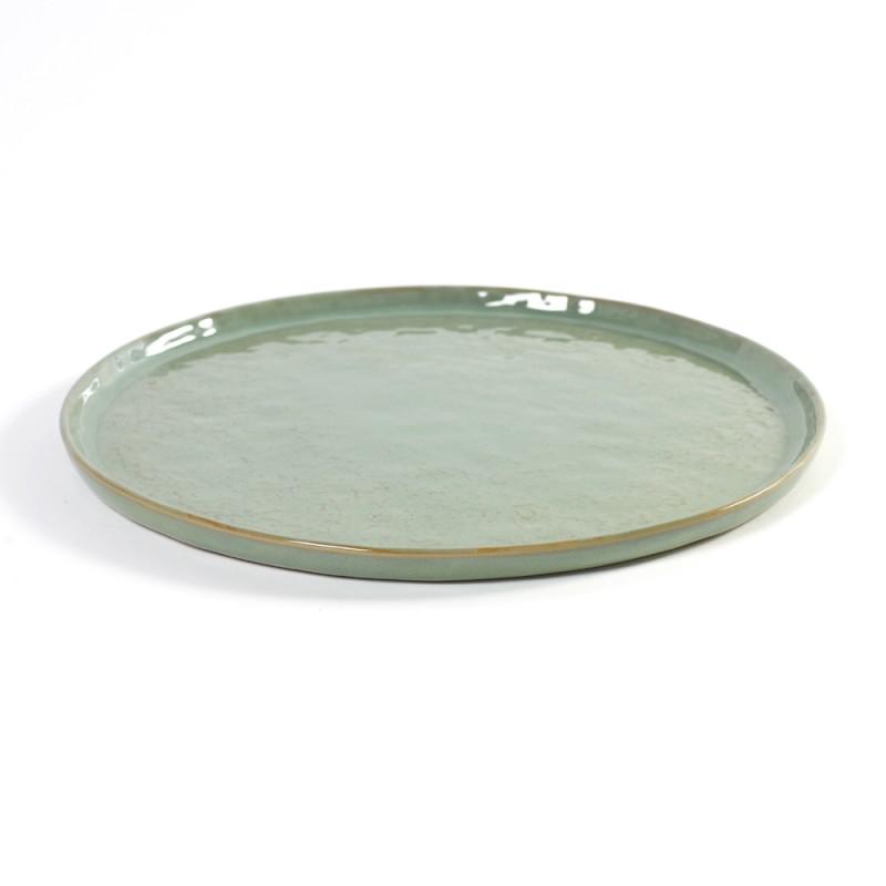 assiette design ceramique vert assiette design serax pure green. Black Bedroom Furniture Sets. Home Design Ideas