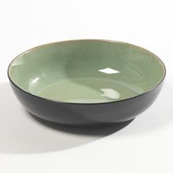 Assiettes originales creusse 20cm céramique Pure green Vert, Serax par Pascale Naessens