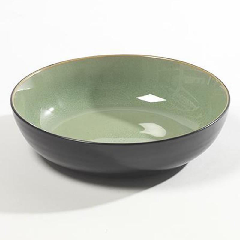 assiettes originales design ceramique deco vert serax pure green. Black Bedroom Furniture Sets. Home Design Ideas