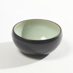 Bol mini ou coupelle 13.5cm céramique Pure green Vert, Serax par Pascale Naessens