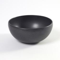 Saladier 20cm céramique Pure green Noir, Serax par Pascale Naessens