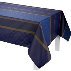Tissu enduit Wax Mania Blue en 155 cm, Le Jacquard Français