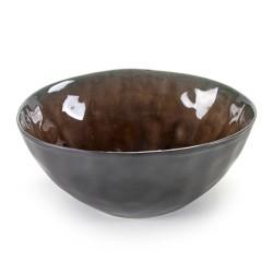 Coupe à dessert ou saladier individuel céramique Pure Brun, Serax par Pascale Naessens
