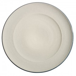 Service assiette plate ceramique Sud perle, Bernex