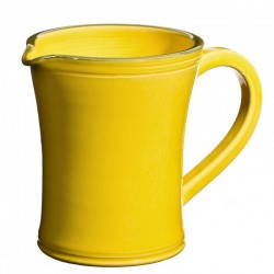 Pichet à eau Sud jaune, Bernex