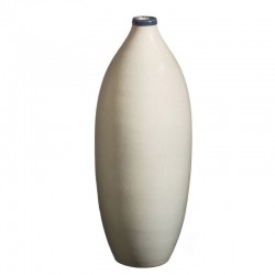 Bouteille design, vase design céramique Sud perle, Bernex