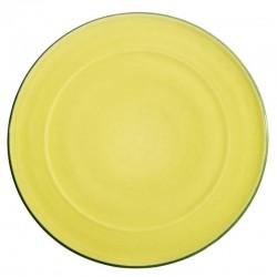 Service vaisselle colorée ceramique Sud pistache, Bernex