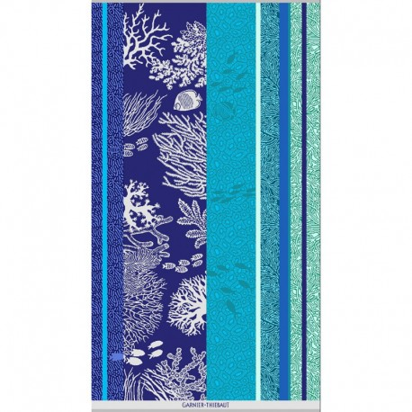 Serviette De Bain Originale.Serviette De Plage Piscine Design Originale Qualite Vert Bleu