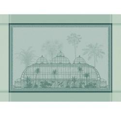 Set de table design anti tache Serres Royales Vert empire, Garnier-Thiébaut