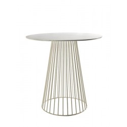 Table d appoint design Bistrot Garbo D 50 X H 50 cm Blanc, Serax