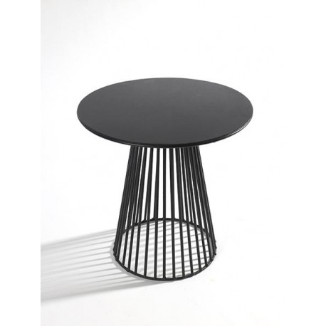 Table d appoint design Bistrot Garbo D 30 X H 30 cm Noir, Serax