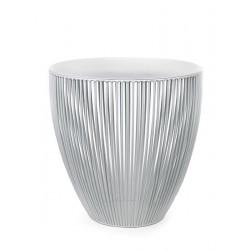 Table d appoint basse ronde design Bingo D 40 X H 40 cm Blanc, Serax