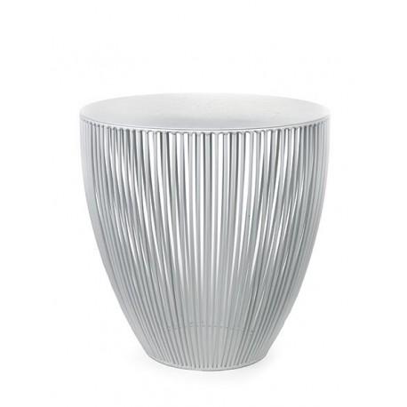 Table d appoint basse ronde design Bingo D 50 X H 50 cm Blanc, Serax