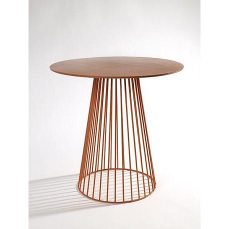 Table d appoint design Bistrot Garbo D 40 X H 40 cm Orange, Serax