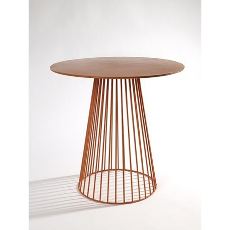 Table d appoint design Bistrot Garbo D 50 X H 50 cm Orange, Serax