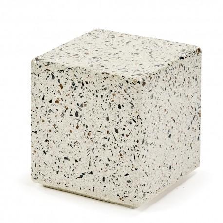 Table d'appoint design cube Terrazzo 30X30 H30 cm, Serax